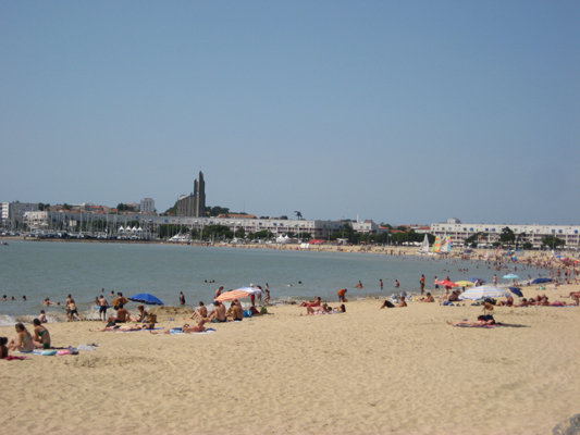 La Grande Conche beach at Royan